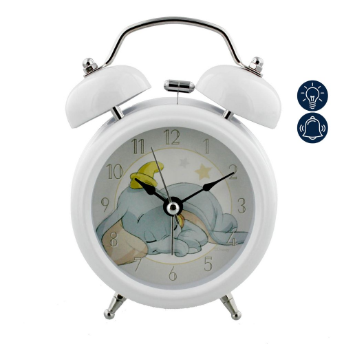 Disney Dumbo Alarm Clock - Official Disney Dumbo Alarm Clock Nursery Decor